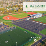Screen shot of the S & C Slatter Ltd website.