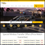 Screen shot of the Minibustransports website.