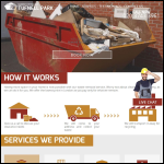 Screen shot of the Waste Removal Tufnell Park Ltd website.