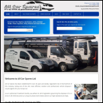 Screen shot of the All Car Spares website.