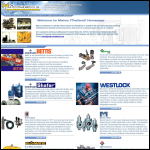 Screen shot of the Matco Industries Ltd website.