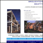 Screen shot of the Broughton Beatty Ltd website.