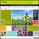 Screen shot of the Tourette Syndrome (UK) Association website.