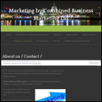 Screen shot of the Combined Business Marketing Ltd website.