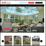 Screen shot of the Trademark Windows Ltd website.