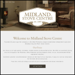 Screen shot of the West Midland Glass Centre Ltd website.