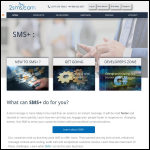 Screen shot of the 2sms.com Ltd website.