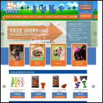 Screen shot of the Mikki Pet Products Ltd website.