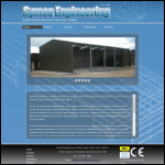 Screen shot of the Symes Engineering Ltd website.