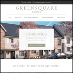 Screen shot of the Greensquare Homes Ltd website.