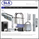 Screen shot of the Locking & Security Solutions Ltd website.