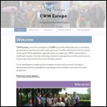 Screen shot of the The Council for World Mission European Region website.