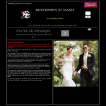 Screen shot of the Abercromby's of Sussex website.