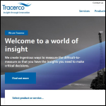Screen shot of the Tracerco Ltd website.