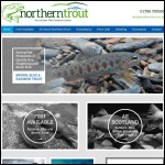 Screen shot of the Sinnington Trout Farms Ltd website.
