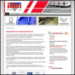 Screen shot of the Access Door Systems Ltd website.