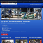 Screen shot of the BMS Bury Pumps website.