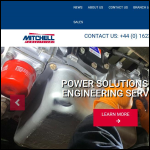 Screen shot of the Mitchell Diesel Ltd website.