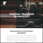 Screen shot of the Thermal Transfer Technology Ltd website.