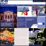 Screen shot of the Association of Town Centre Management website.