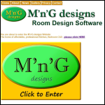 Screen shot of the M'n'G Designs Ltd website.