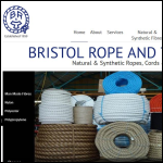 Screen shot of the Bristol Rope & Twine Co. website.