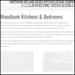 Screen shot of the Woodbank Kitchens website.