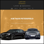 Screen shot of the A & A Stroud Taxis Ltd website.
