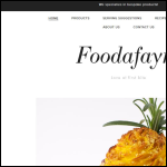 Screen shot of the Foodafayre (UK) Ltd website.