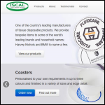 Screen shot of the Iscal The Coaster Factory website.