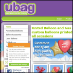 Screen shot of the United Balloon & Gas Company Ltd website.