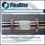 Screen shot of the FlexRite Chemgiene Ltd website.