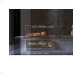 Screen shot of the Modern Architectural Practice website.