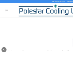 Screen shot of the Polestar Cooling Ltd website.