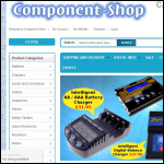 Screen shot of the Component-Shop Co Uk Ltd website.