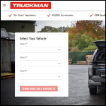 Screen shot of the Truckman (UK) Ltd website.