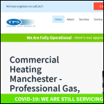 Screen shot of the Techniheat Plant Services Ltd website.