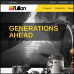 Screen shot of the Fulton Boiler Works (Great Britain) Ltd website.