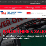 Screen shot of the Independent Welding Services Ltd website.