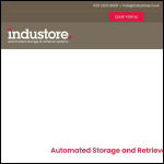 Screen shot of the Industore Ltd website.