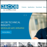 Screen shot of the Jacob (UK) Ltd website.
