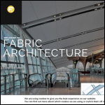 Screen shot of the Fabric Architecture Ltd website.