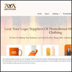 Screen shot of the Love Your Logo Ltd website.