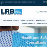 Screen shot of the LRB Consulting Ltd website.