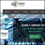 Screen shot of the Triac Services Ltd website.