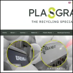 Screen shot of the Plasgran Ltd website.