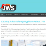 Screen shot of the John White & Son (Weighing Machines) Ltd website.