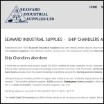 Screen shot of the Seaward Industrial Supplies Ltd website.