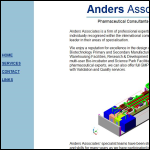 Screen shot of the Anders Associates website.