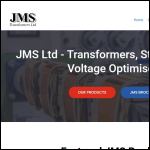 Screen shot of the JMS Transformers Ltd website.